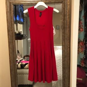 Marciano red dress